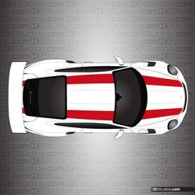 Porsche 911R Stripes for 991 GT3 RS