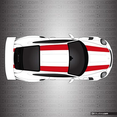 Porsche 911R Stripes for 991 GT3 RS