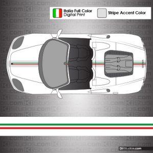 Ferrari 360 Challenge Stradale Stripes for F360 Spider