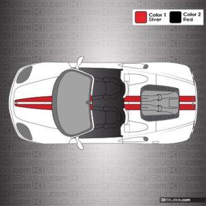 Ferrari 360 Spider Stripe Kit 001 Accent Color