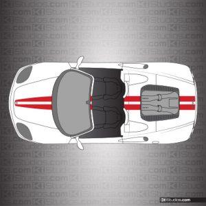 Ferrari 360 Spider Stripe Kit 001 Single Color
