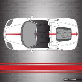 Ferrari 360 Spider Stripe Kit 002