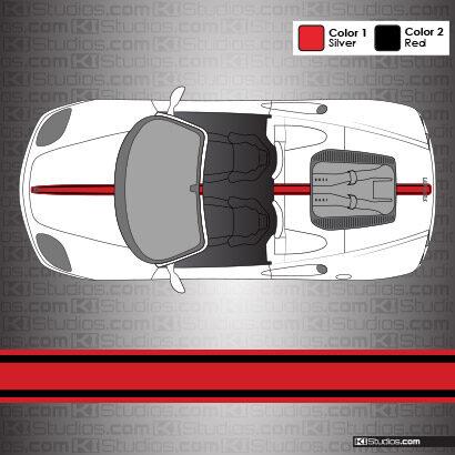 Ferrari 360 Spider Stripes 003