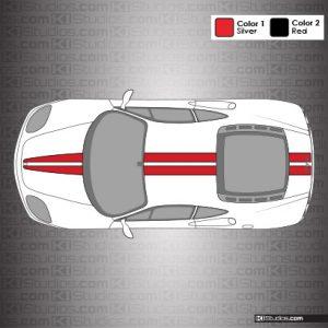 Ferrari 360 Modena Stripe Kit 001 - Accent Color