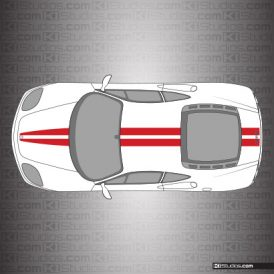 Ferrari 360 Modena Stripe Kit 001 - Single Color