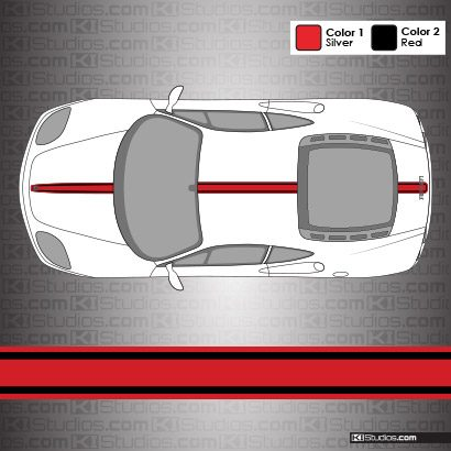Ferrari 360 Modena Stripe Kit 003