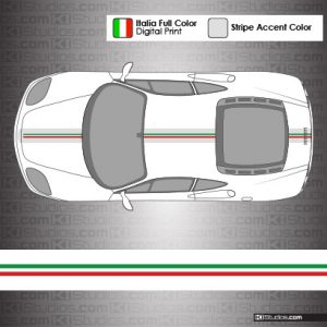 Ferrari 360 Challenge Stradale Stripes for the 360 Modena
