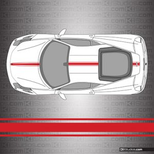 Ferrari 458 Italia Stripe Kit 002