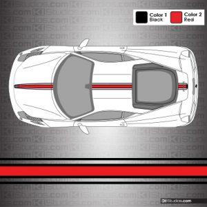 Ferrari 458 Italia 16M Stripes - 003 KI Studios