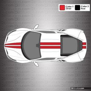 Ferrari 488 GTB Stripe Kit 001 - Accent Color