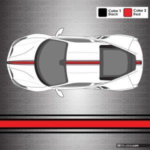 Ferrari 488 GTB 16M Stripes by KI Studios