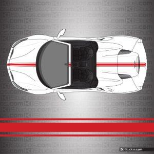 Ferrari 488 Spider Stripe Kit 002