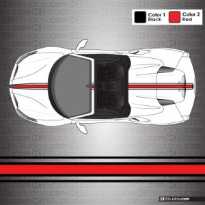 Ferrari 488 Spider 16M Stripes by KI Studios