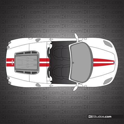 Ferrari F430 Spider Stripe Kit 001