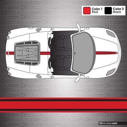 Ferrari F430 Spider Stripe Kit 003