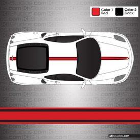 Ferrari F430 Stripe Kit 003