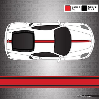 Ferrari F430 Stripe Kit 003