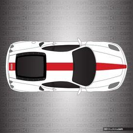 Ferrari F430 Stripe Kit 005