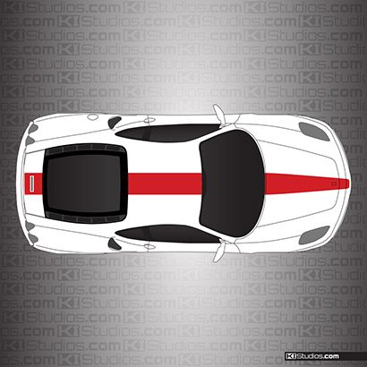 Ferrari F430 Stripe Kit 005
