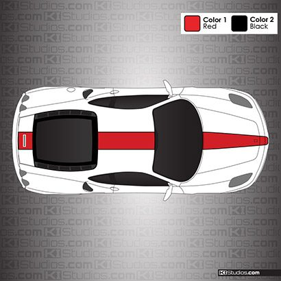 Ferrari F430 Stripe Kit 006