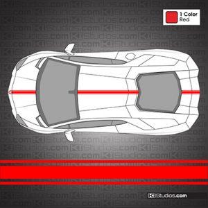 Lamborghini Aventador Stripe Kit 001 - KI Studios