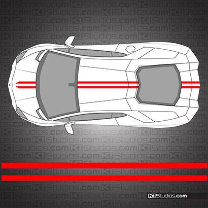 Lamborghini Aventador Stripe Kit 005 - KI Studios