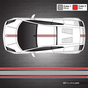 Lamborghini Gallardo Stripe Kit 003