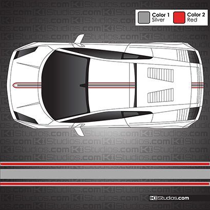 Lamborghini Gallardo Stripe Kit 003