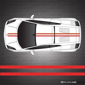 Lamborghini Gallardo Stripe Kit 005 - KI Studios Car Wraps
