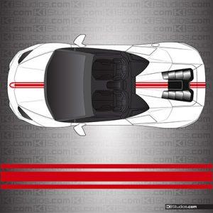 Lamborghini Huracan Spyder Stripe Kit 001