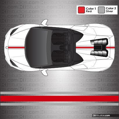 Lamborghini Huracan Spyder Stripe Kit 002