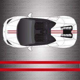 Lamborghini Huracan Spyder Stripe Kit 005