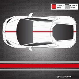 Lamborghini Huracan Stripe Kit 002