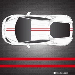 Lamborghini Huracan Stripe Kit 005