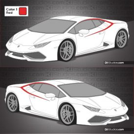 Lamborghini Huracan Stripe Kit 010 - Accents