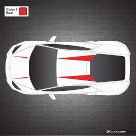 Lamborghini Huracan Stripe Kit 011 - Accents