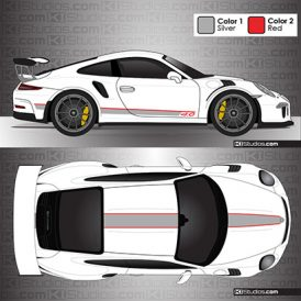 Porsche 991 GT3 RS Stripe Kit 001