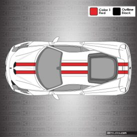 Ferrari 458 Speciale Stripes by KI Studios