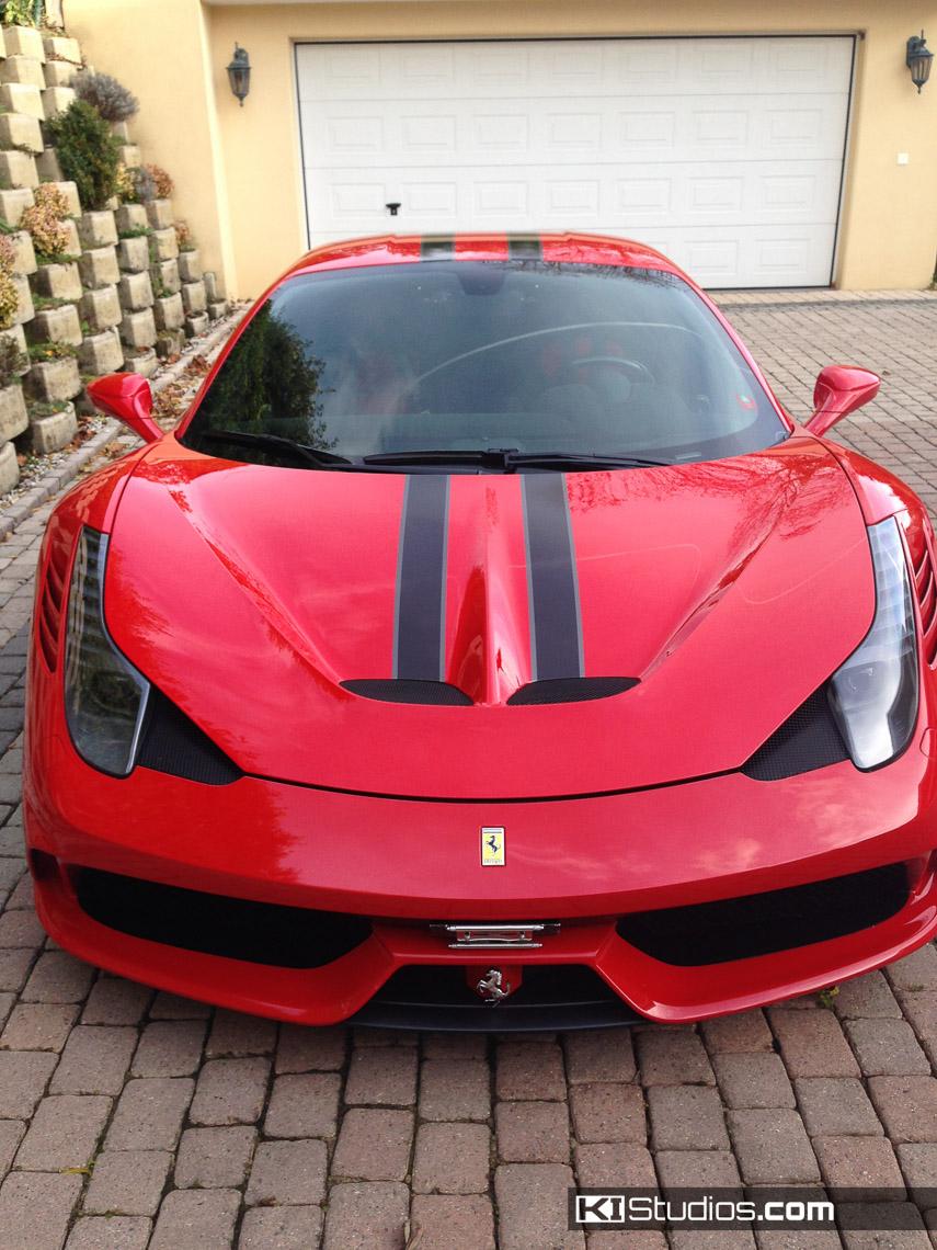 Ferrari 458 Speciale Stripe Kit 001 Ki Studios