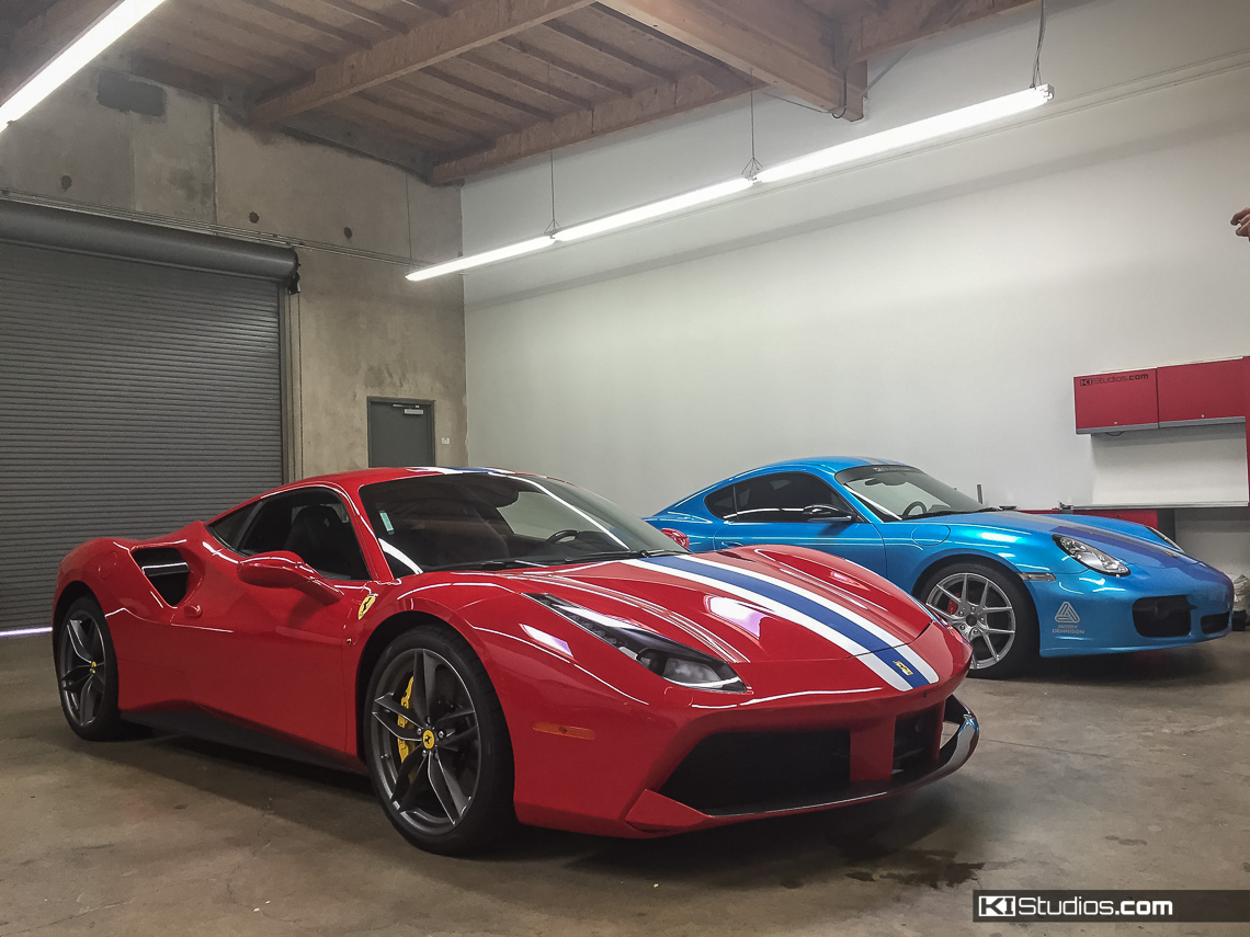 Ki Studios Ferrari 488 Gtb Stripes 005 Based On The 458