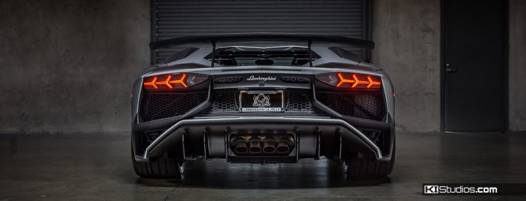 Lamborghini Aventador SV Full Body Clear Bra by KI Studios