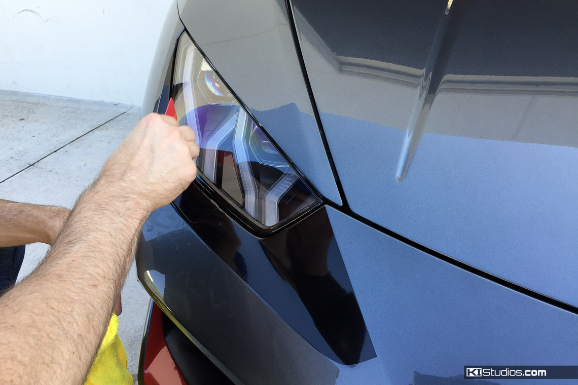 Lamborghini Huracan Spyder Headlight Accent Decals Ki