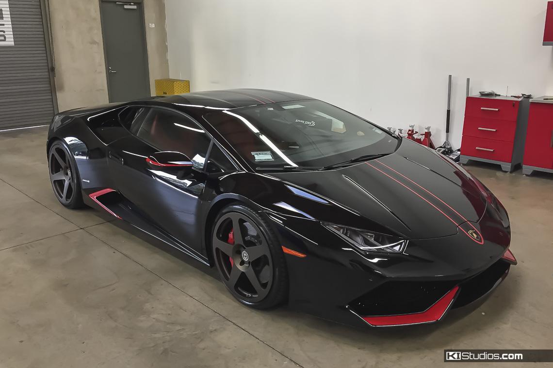 Lamborghini Huracan Intake Accent Decals