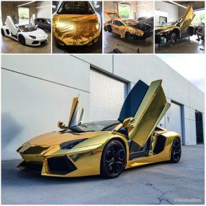 Lamborghini Aventador Color Change
