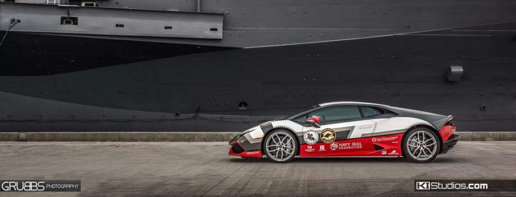 Navy Seal Lamborghini Huracan Custom Wrap - KI Studios