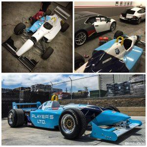 Open Wheel Race Car Graphics