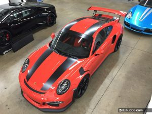 Porsche 911R Stripes for the 991 GT3 RS - 2
