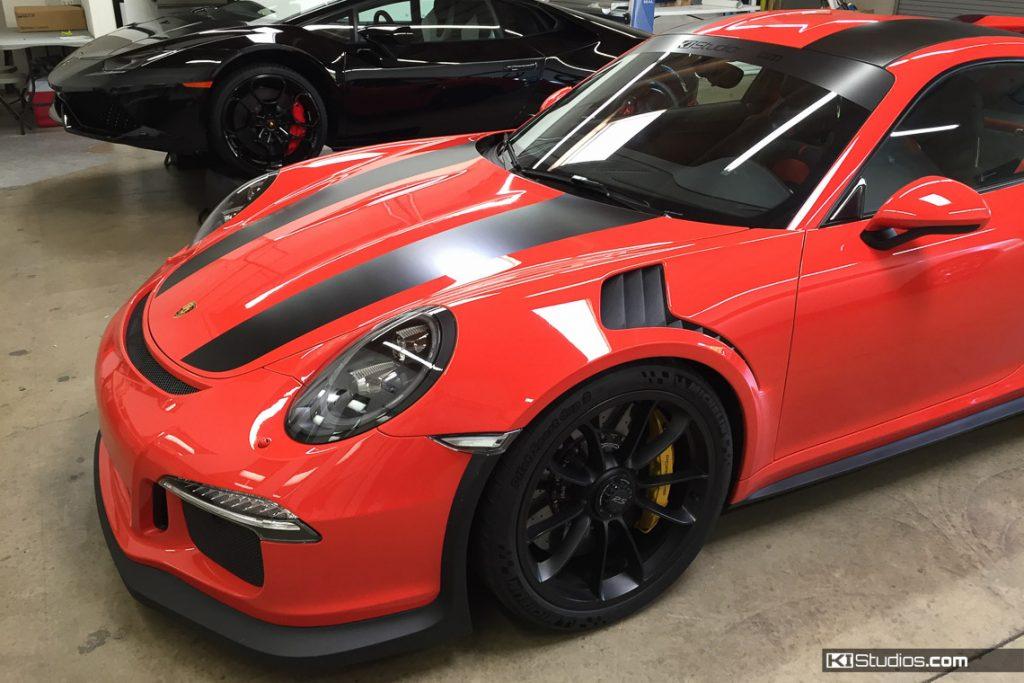 Porsche 991R Stripes on a GT3 RS