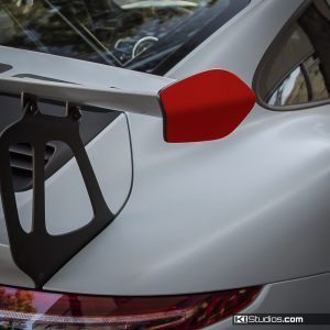 Porsche 991 GT3 RS Wing End Caps - Decals