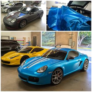 Porsche Cayman S 987 Color Change